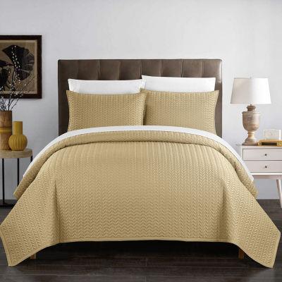Chic Home Weaverland Quilt Set