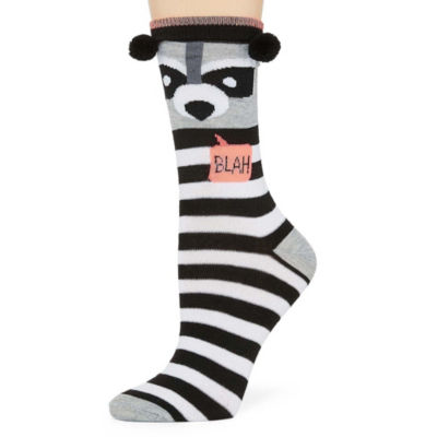 Mixit Womens 1 Pk Critter Crew Socks