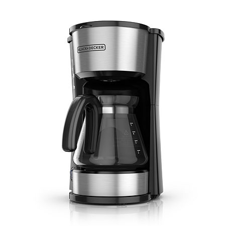 Black+Decker 4-in-1 5-Cup* Station Coffeemaker, One Size , Black