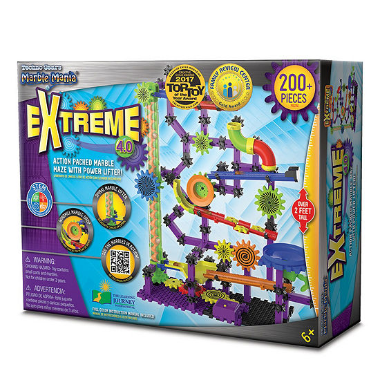 The Learning Journey Techno Gears Marble Mania Extreme 4.0  (200+ pcs)