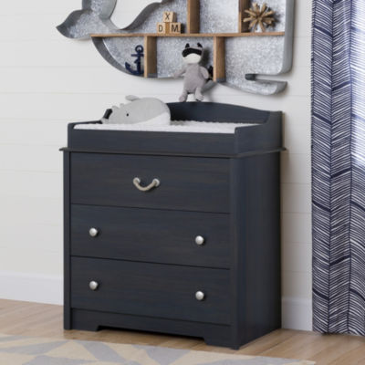 Aviron Changing Table with Drawers