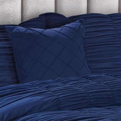 Olivia 5-pc. Pintuck Texture Solid Bedding Set