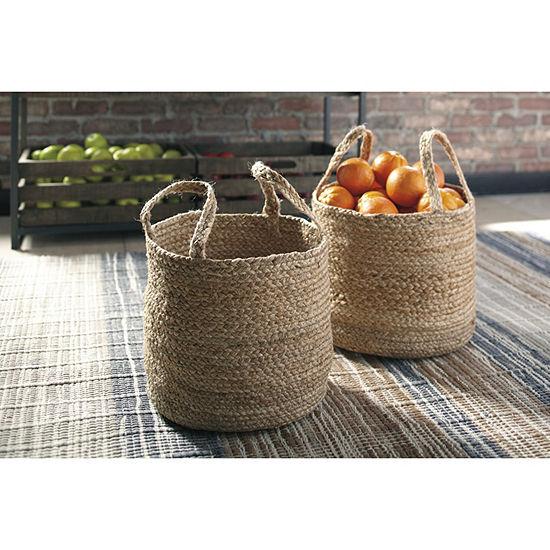 Signature Design By Ashley® Set of 2 Brayton Baskets