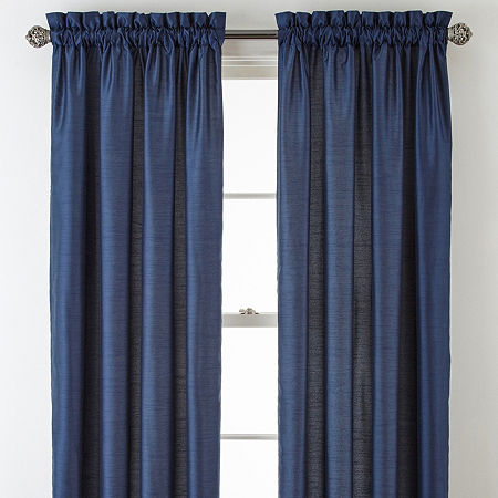 (75% OFF Deal) Home Plaza Light-Filtering Single Curtain Panel $9.99