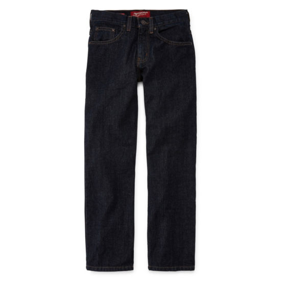 Arizona Relaxed-Fit Jeans Boys 4-20, Slim & Husky