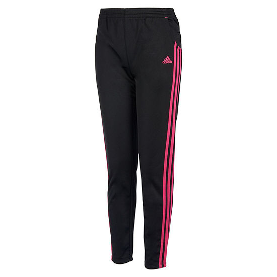 adidas Big Girls Mid Rise Straight Track Pant
