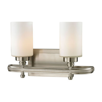 Dawson 2 Light LED Vanity with Opal White Glass