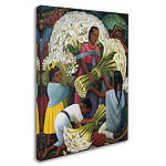 Trademark Fine Art Diego Rivera The Flower Vendor Giclee Canvas Art
