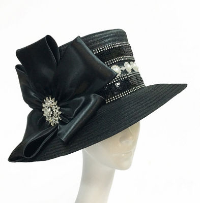 Whittall & Shon Medium Brim Derby Hat