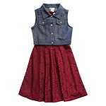 Emily West Girls 2-pc. Jacket Dress - Preschool / Big Kid
