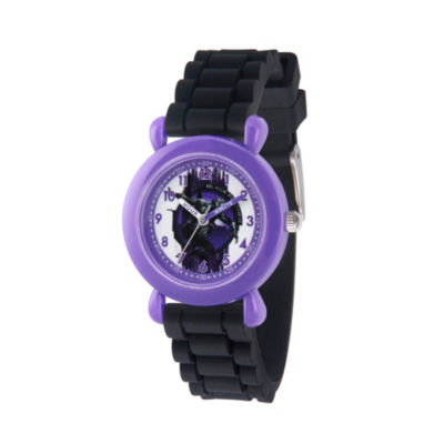Black Panther Boys Black Strap Watch-Wma000282