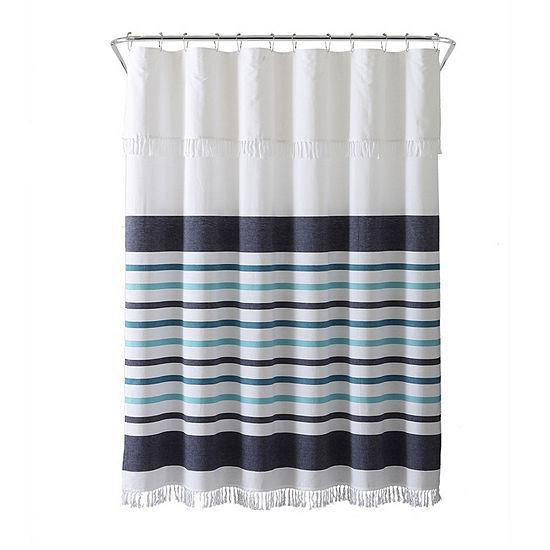 Inspired Surroundings Parker Shower Curtain