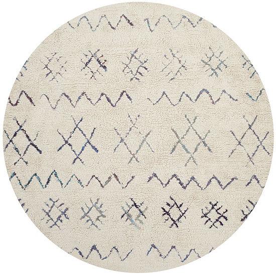Safavieh Casablanca Collection Lula Geometric Round Area Rug