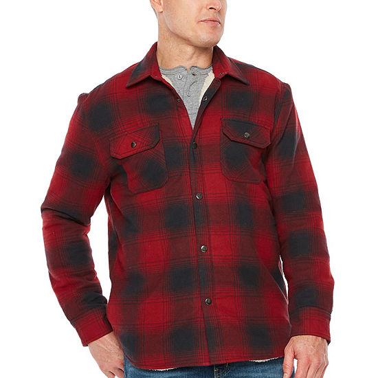 Big Mac Flannel Lightweight Shirt Jacket - Tall