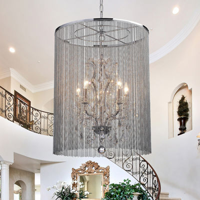 Warehouse Of Tiffany Rosalias Chain Crystal Chandelier