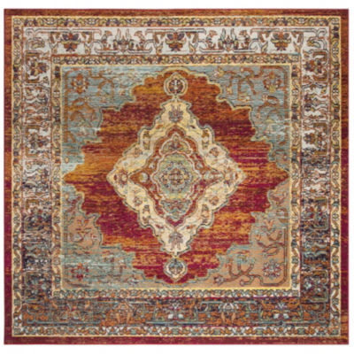 Safavieh Crystal Collection Dedan Oriental SquareArea Rug