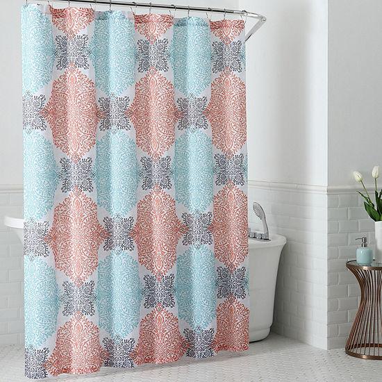 Inspired Surroundings Ava Shower Curtain