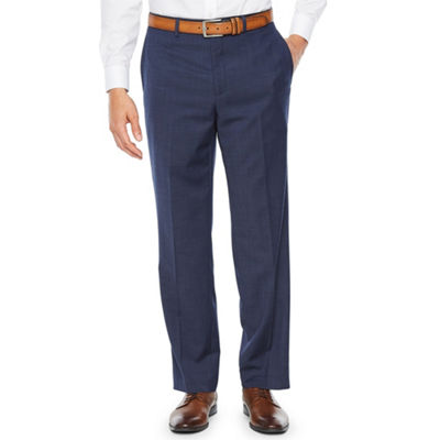 Collection by Michael Strahan Navy Tic Classic Fit Suit Pants