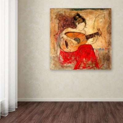 Trademark Fine Art Masters Fine Art Vanessa GicleeCanvas Art