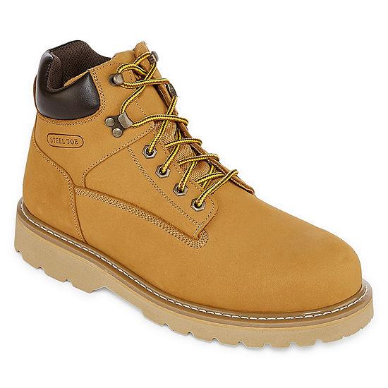 Big Mac Mens Turner Steel Toe Work Boots