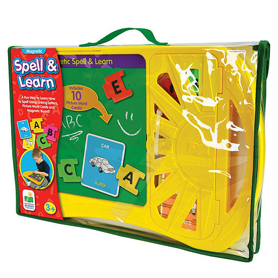 The Learning Journey Magnetic Spell and Learn Board
