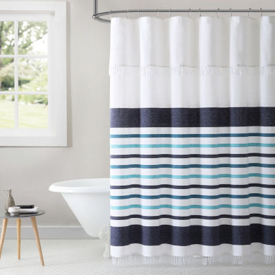 Inspired Surroundings Parker Shower Curtain