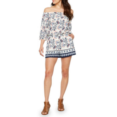 Premier Amour 3/4 Sleeve Romper