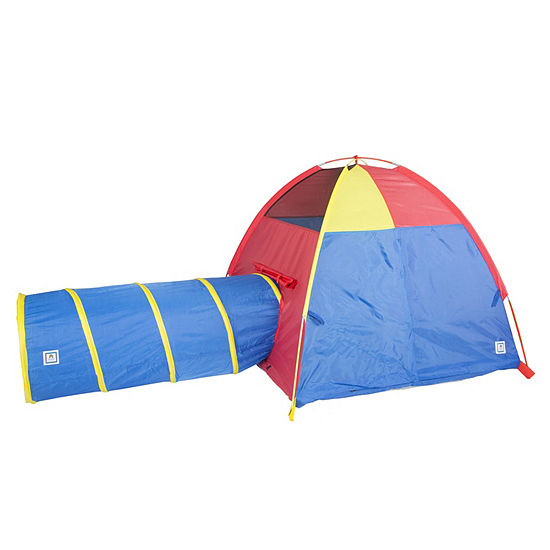 huge discount aa642 3df6a Pacific Play Tents Hide-Me Play Tent & Tunnel Combination