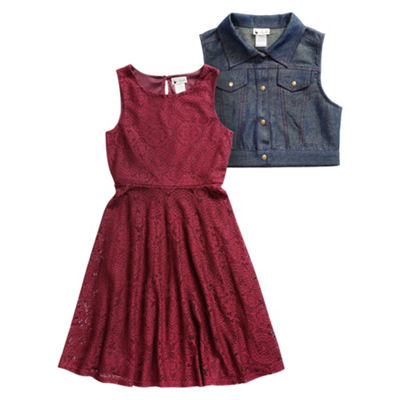 Emily West 2-pc. Jacket Dress Girls