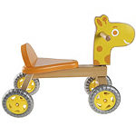 Happy Trails Wooden Ride-on Giraffe