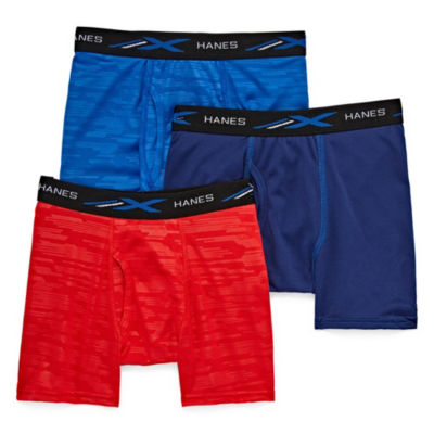 Hanes® Boys' X-Temp® Boxer Briefs 3-Pack