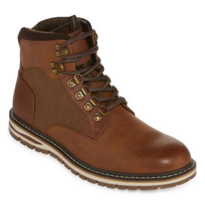 JF J.Ferrar Mens Norton Lace Up Boots