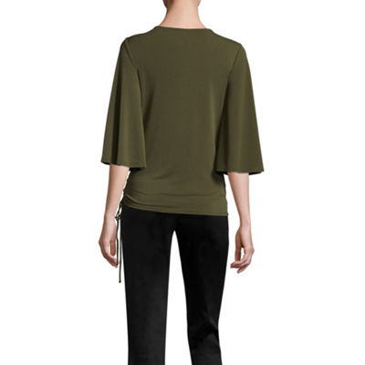 Worthington Wrap Top - Tall
