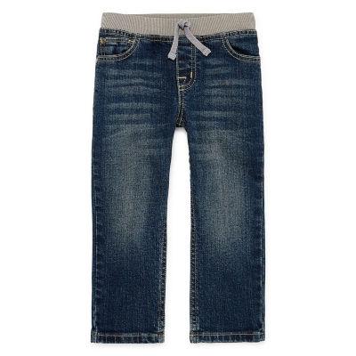Okie Dokie Straight Fit Jeans-Toddler Boys