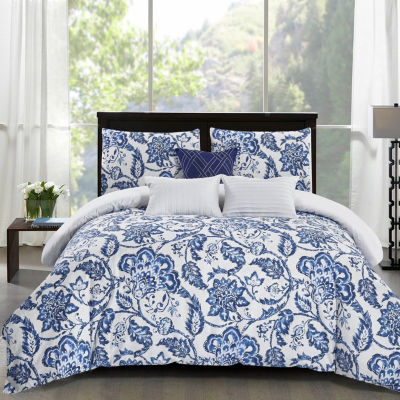 Wonder Home Elana 6-pc. Cotton Print Comforter Set