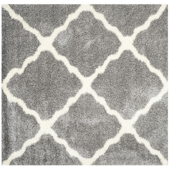 Safavieh Montreal Shag Collection Grover Geometric Square Area Rug