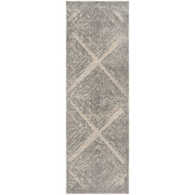 Safavieh Meadow Collection Myrtle Geometric RunnerRug