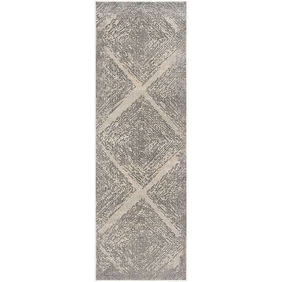 Safavieh Meadow Collection Myrtle Geometric Runner Rug