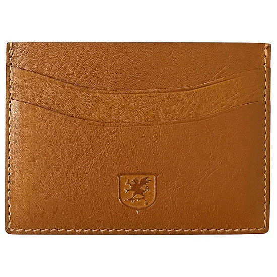 Stacy Adams Vegetable Leather Card Holder