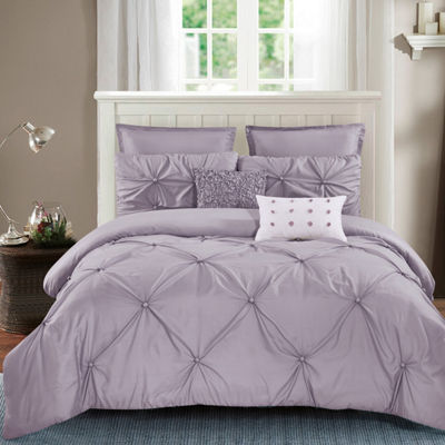 Wonder Home Harper 7-pc. Solid Comforter Set