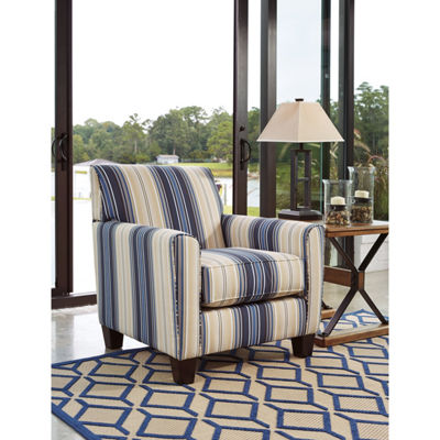 Signature Design By Ashley® Ayanna Nuvella Striped Accent Chair