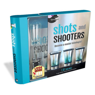 Spicebox Shots & Shooters Master Mixologist Kit