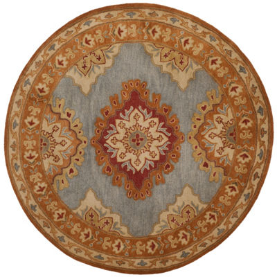 Safavieh Heritage Collection Lavone Oriental RoundArea Rug