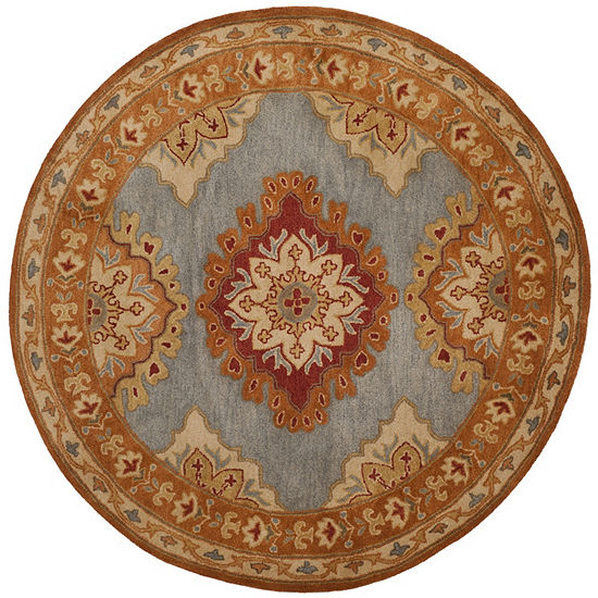 Safavieh Heritage Collection Lavone Oriental Round Area Rug