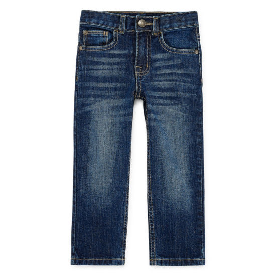 Okie Dokie Straight Fit Stretch Jean-Toddler Boys