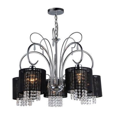 Warehouse Of Tiffany Celeste Crystal 5-light Chandelier