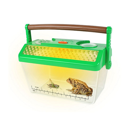Bug Catcher Critter Barn Habitat For Indoor/Outdoor Insect Collecting With Light Kit
