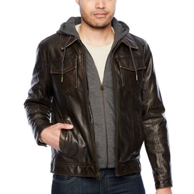 Levi's Midweight Motorcycle Jacket - Big & Tall