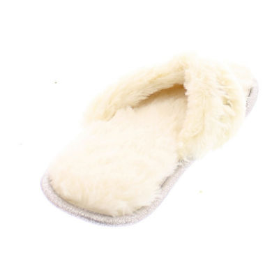 Gold Toe Jewel Thong Slip-On Slippers