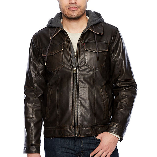 Levi's® Midweight Motorcycle Jacket - Big & Tall